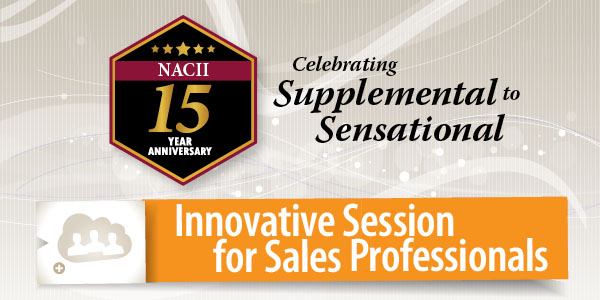 Innovative sessions for sales professionals