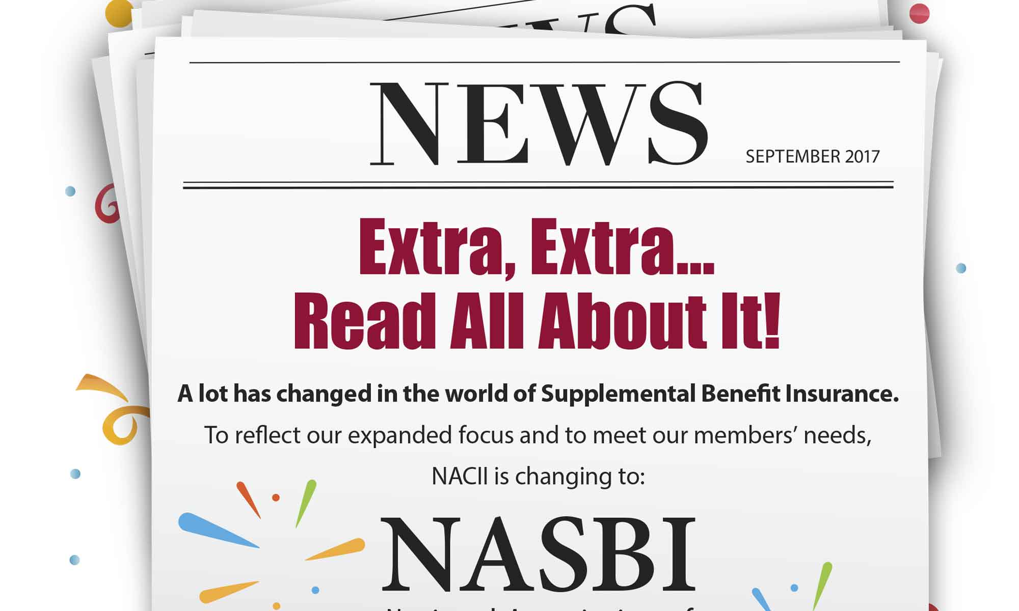 NASBI Announcement