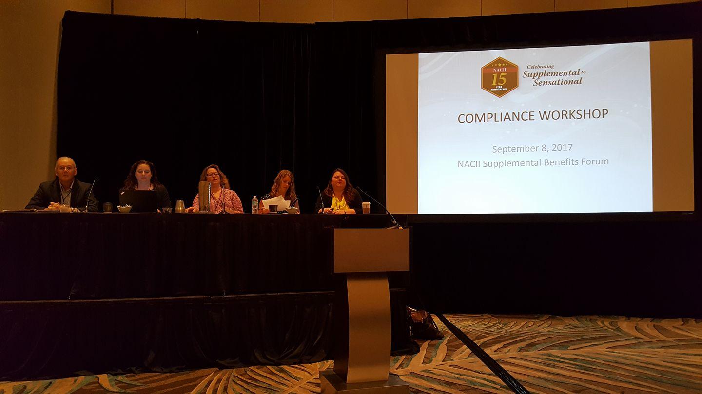 compliance workshop NASBI Forum2017