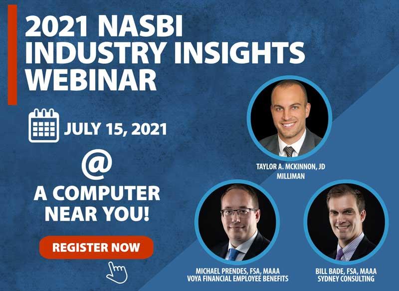July 15, 2021 NASBI Webinar