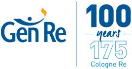 Logo: Gen Re 100 years
